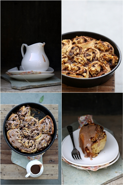 Cinnamon Apple Walnut Coffee Cake Recipe