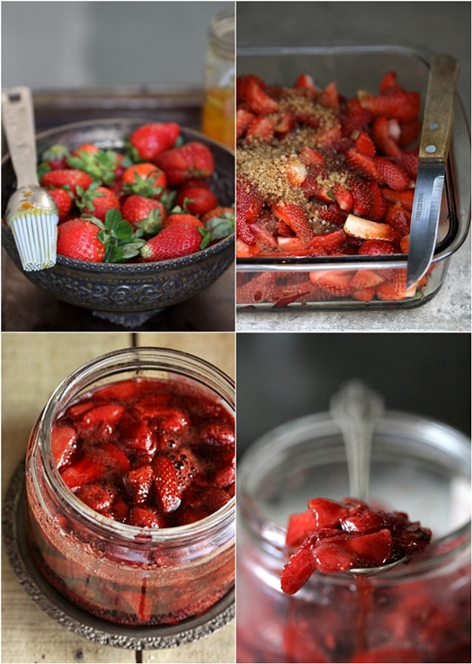 Roasted Balsamic Strawberries