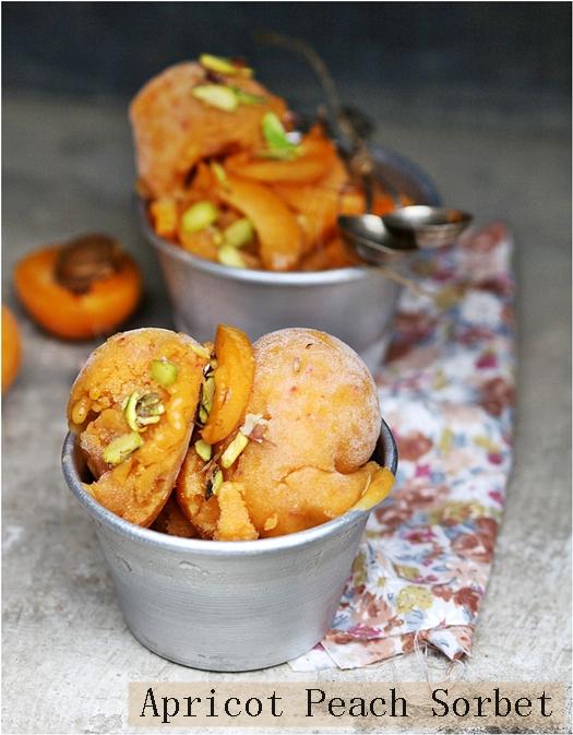 Peach Sorbet Food Network Curtis Aikens