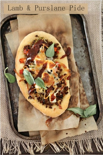 Baking | Lamb & Purslane Pide … Turkish cuisine with British flavour
