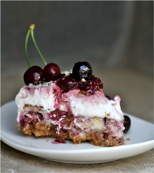 Quark Cheesecake Cherry Pie