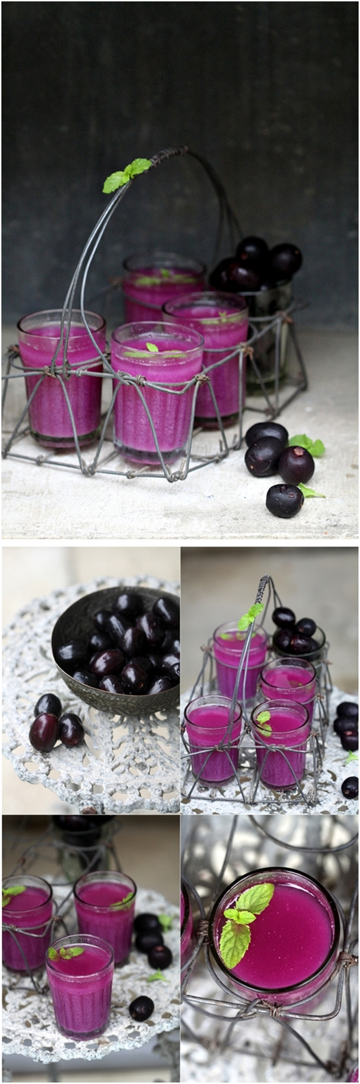 Wild Indian java plum {jamun} sherbet