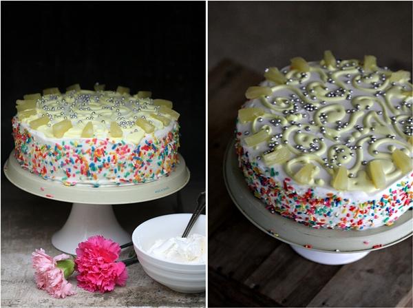 Pineapple Mascarpone Cake