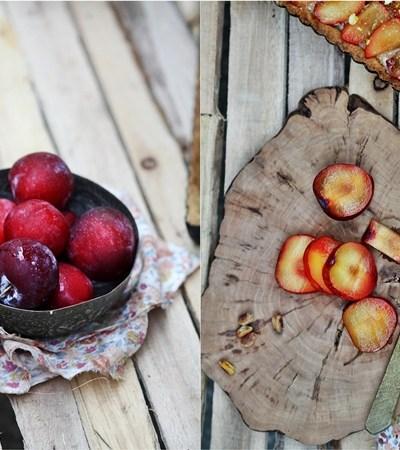 Baking | Plum Tart with Walnut Frangipane … on my list to do before summer went!