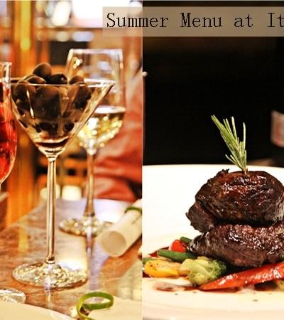 Bloggers Table   {Delhi} Summer Menu at Italia …. Olive Fest!
