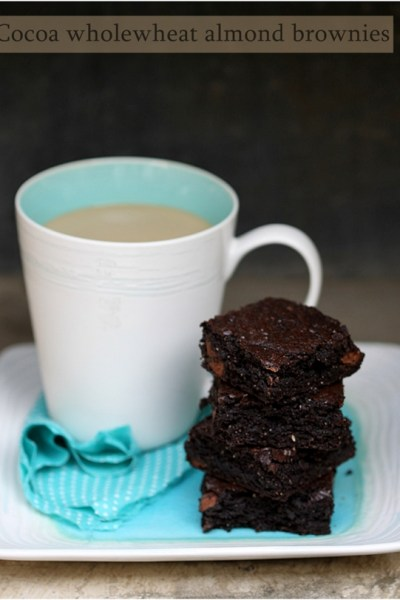 Baking | One bowl cocoa wholewheat almond brownies … Alice Medrich {#urbandazzle}