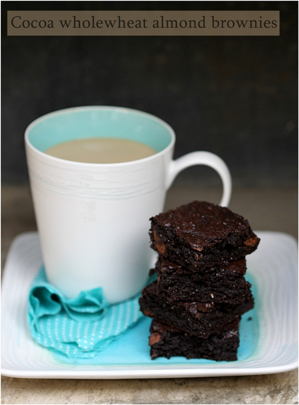 Baking   One bowl cocoa wholewheat almond brownies … Alice Medrich {#urbandazzle}