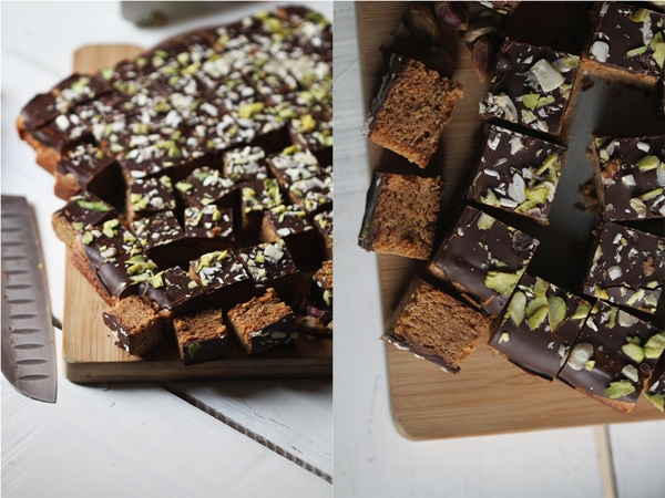 Almond Chocolate Squares