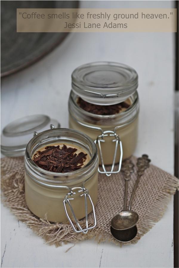 Bru Coffee Panna Cotta