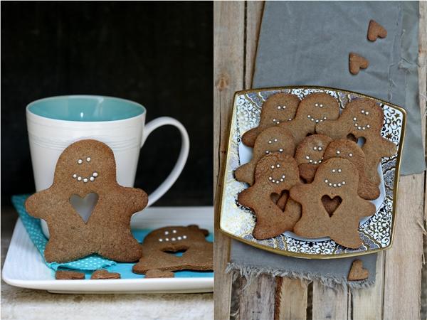 Wholewheat Gingerbread Men Cookies 2