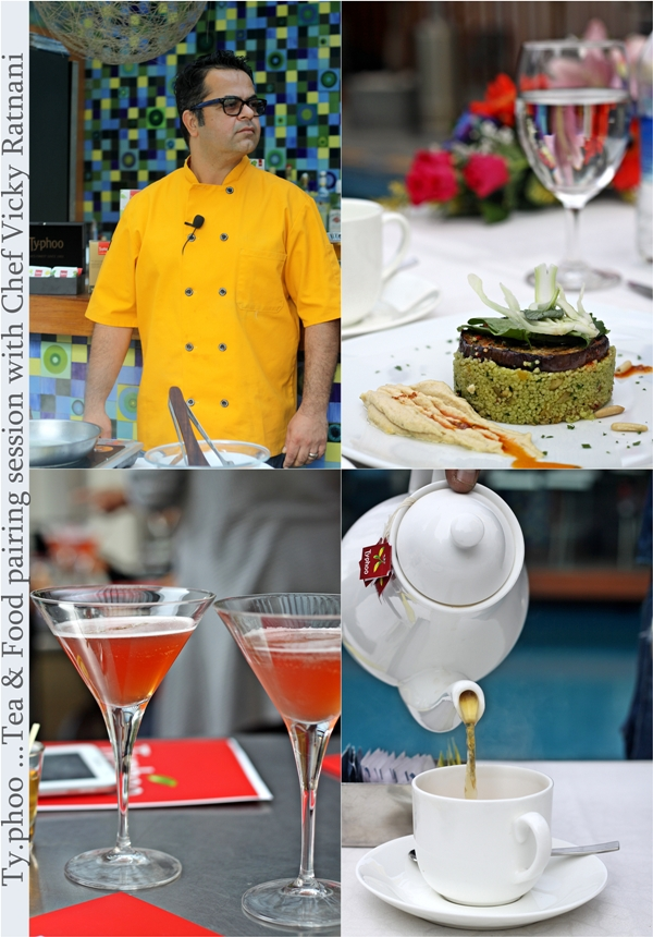 Food Event | Ty.phoo …Tea & Food Pairing Session with Chef Vicky Ratnani