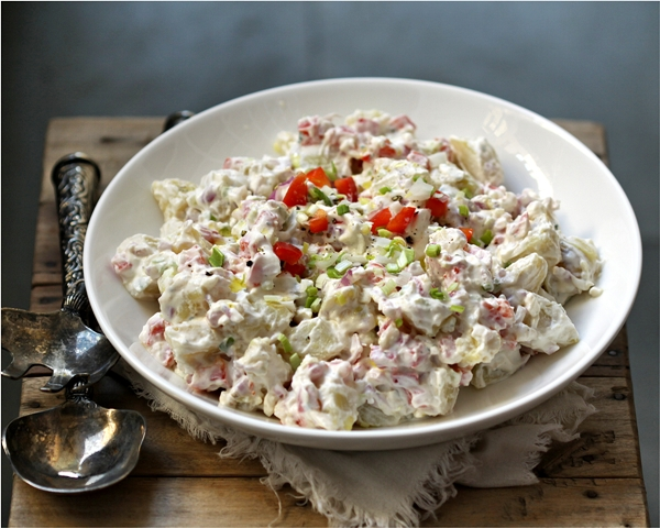 Cold potato salad