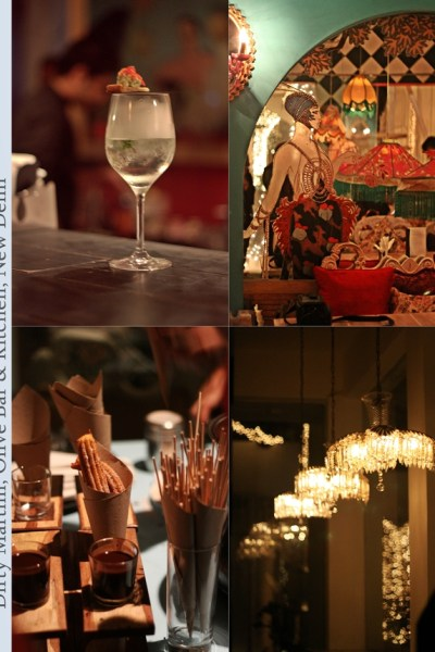 Food Event | Bloggers Night @ Dirty Martini, Olive Bar & Kitchen, New Delhi