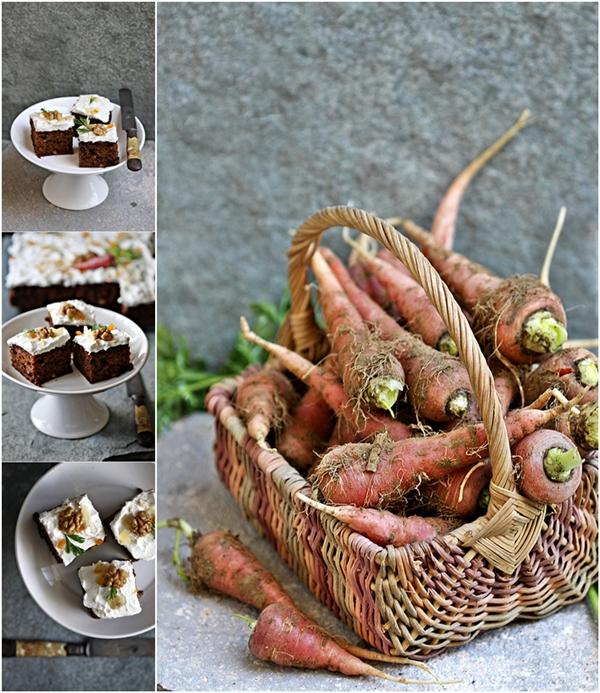 Carrot Cake Walnuts Raisins