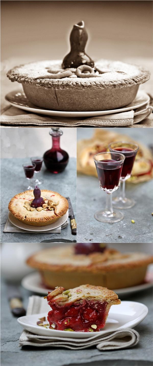 Strawberry Pie ... & a pie bird