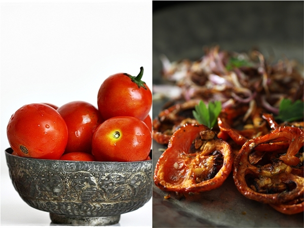 Dehydrated tomatoes