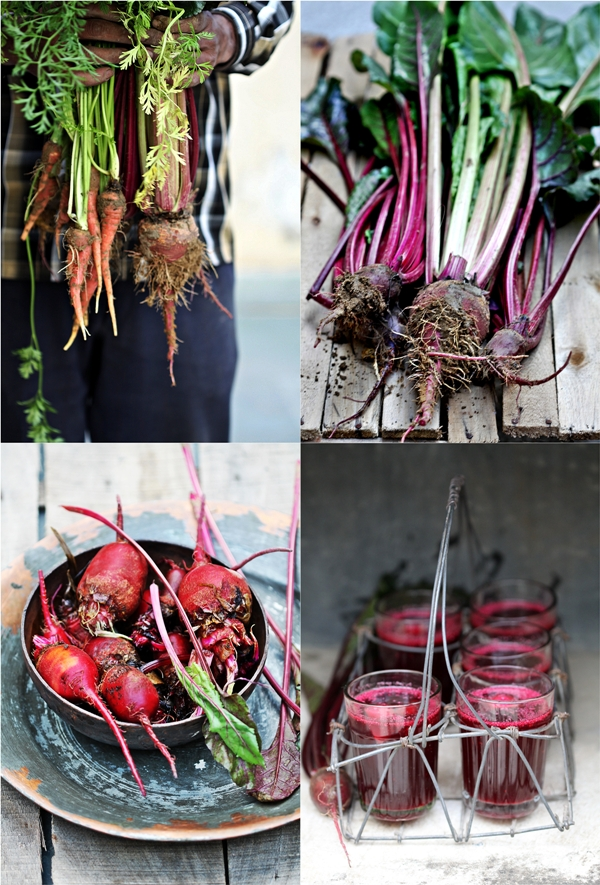 Beets, carrots and kanji ...fermented drinks