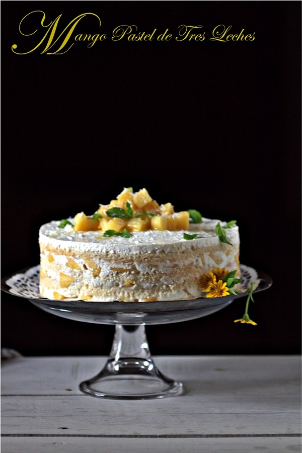 Baking | Mango Pastel de Tres Leches or Mango Three Milk Cake … Daring Bakers soak up cake!