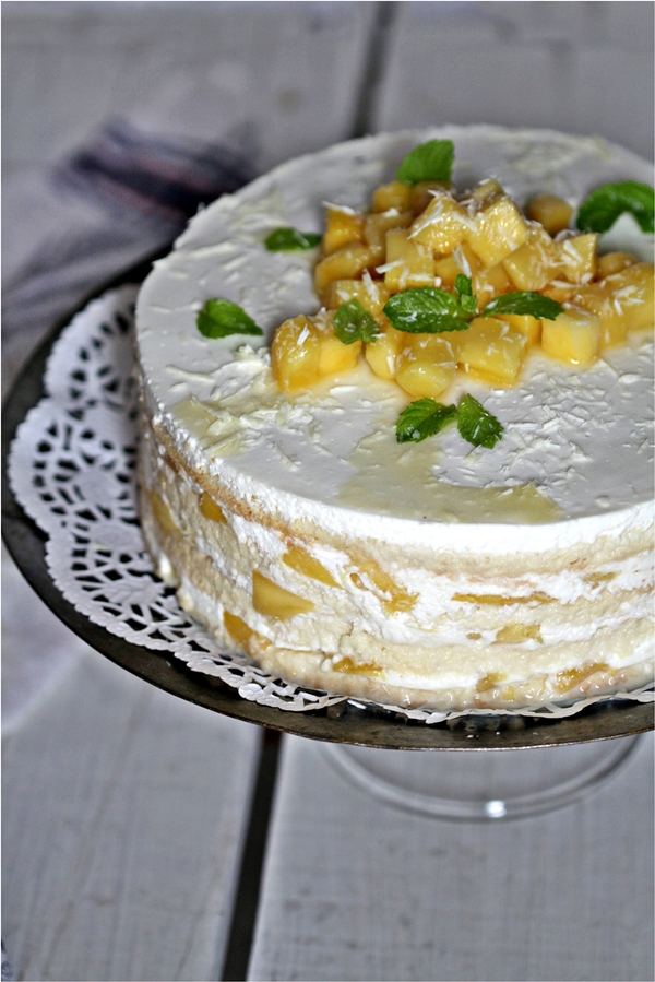 Three Milk Cake With Rompope