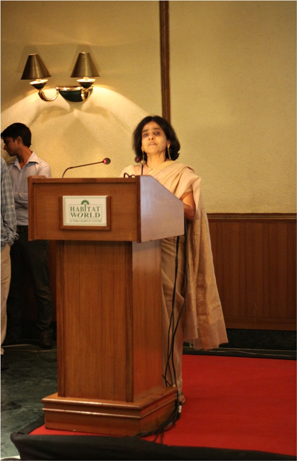 Sunita Narain @ First Food , A Taste of India's Biodiversity, India Habitat Centre, Delhi