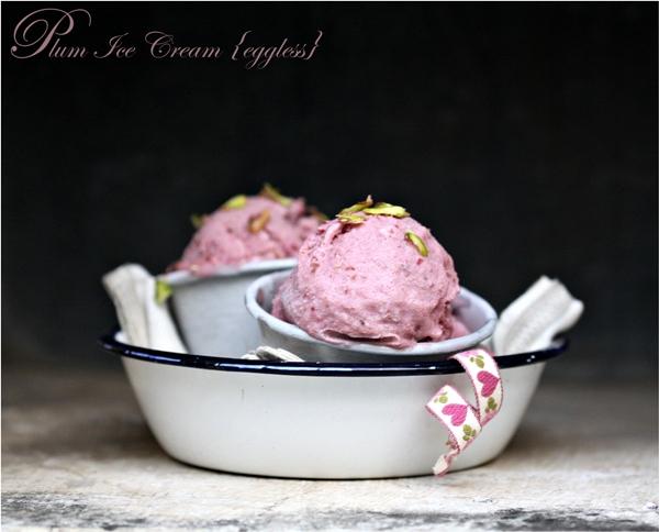 Plum Ice Cream