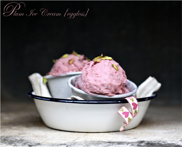 Plum Ice Cream