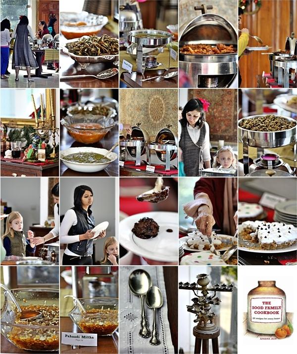 "Food tasting of ""Pahaadi Khaaana"" from the Sood Family Cookbook by Aparna Jain"
