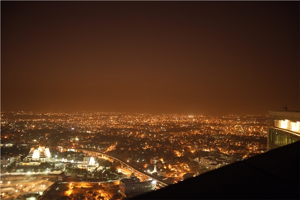 Bangalore City From HIGH Ultra Lounge