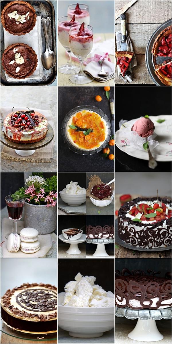 Quark desserts