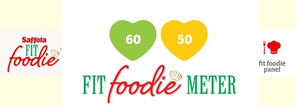 Fit foodie meter
