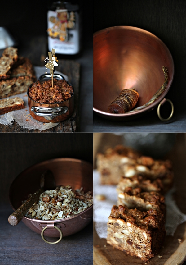 Baking | Wholegrain Bourbon Garam Masala Christmas Cake … with nuts, figs and quark #MerryChristmas #fig&nutcake #garammasala
