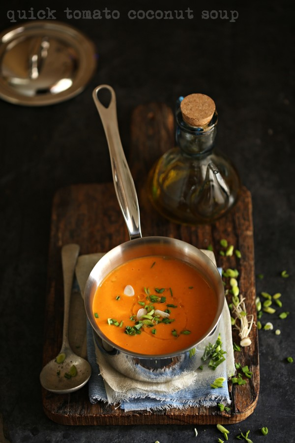 Soup | Quick Tomato Coconut Soup … #comfortfood #healthy #PhilipsSoupMaker