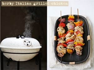Grill In with herby Italian chicken