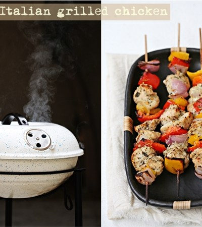 Grilling   GRILL IN with summer … a charcoal grill & herby lime chicken
