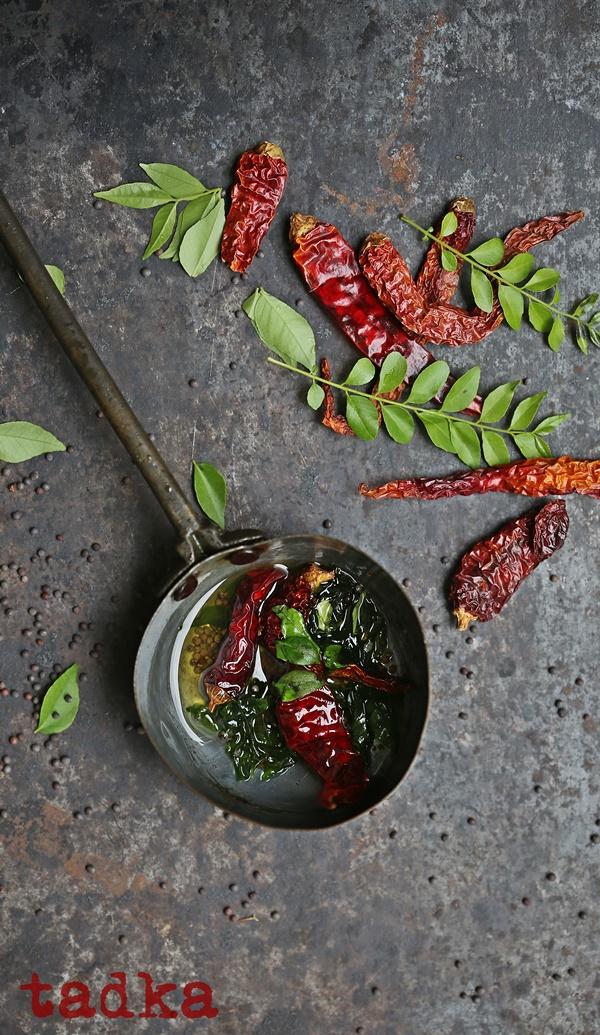 Kadhi  indian yogurt curry tadka