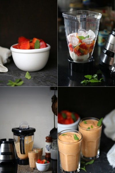 Cooking   Kadhi {Indian vegetarian yogurt curry} … #CreateFearlessly with Hamilton Beach Multiblender