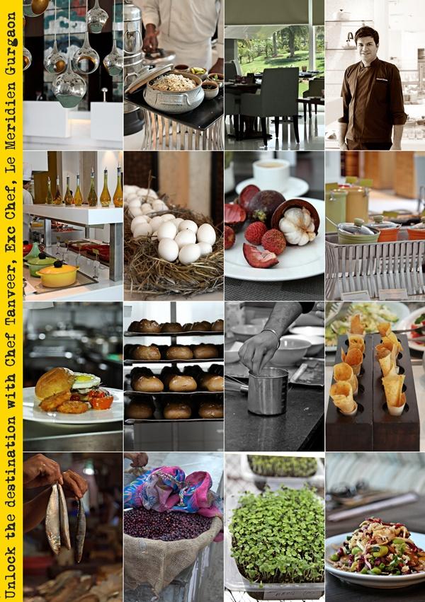 Unlock the destination with Chef Tanveer, Exc Chef, Le Meridien Gurgaon 600