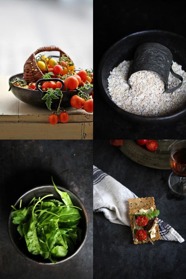 Baking | Oats Nut Crispbread … delicious, light, addictive. Simple too #wholegrain #healthy