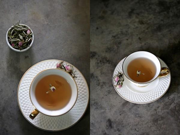 Rose Mist Summer Darjeeling White Tea ...almost to pretty to brew