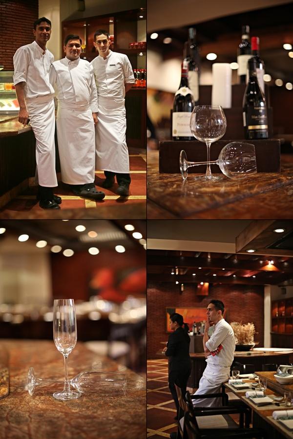 Chef Rohilla and his team, TK'S Oriental Grill, Hyatt Regency Delhi