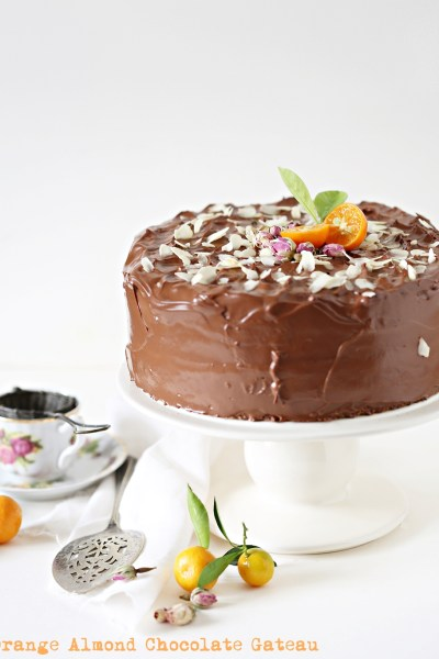 Baking | Orange Almond Chocolate Gateau … as delicious as cake can get