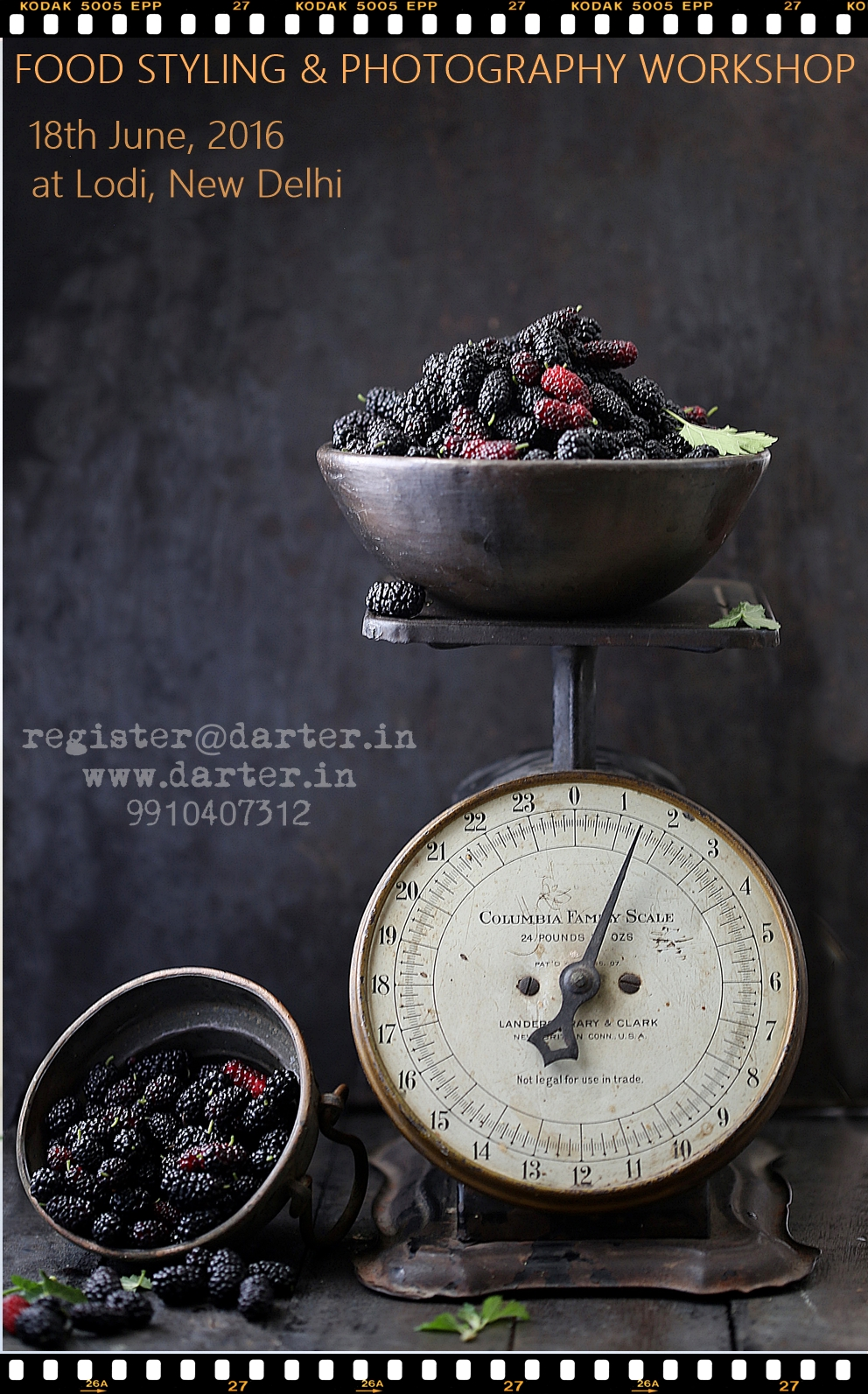 Food Styling and Photography Workshop, NCR