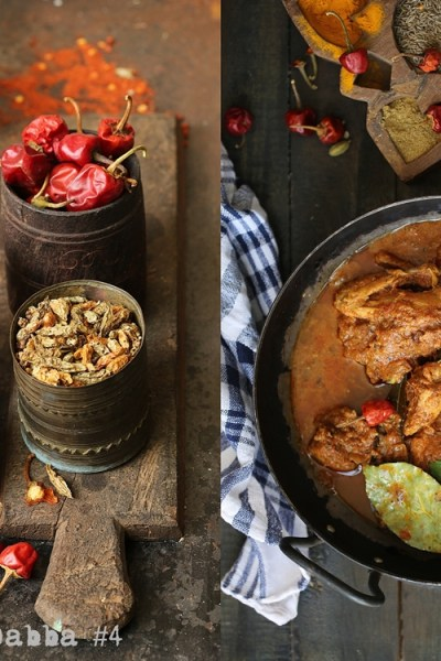 FoodTalk & Curry | The Masala Dabba #4 & Chettinad Chicken Curry. Chilies, as hot as hot can be!