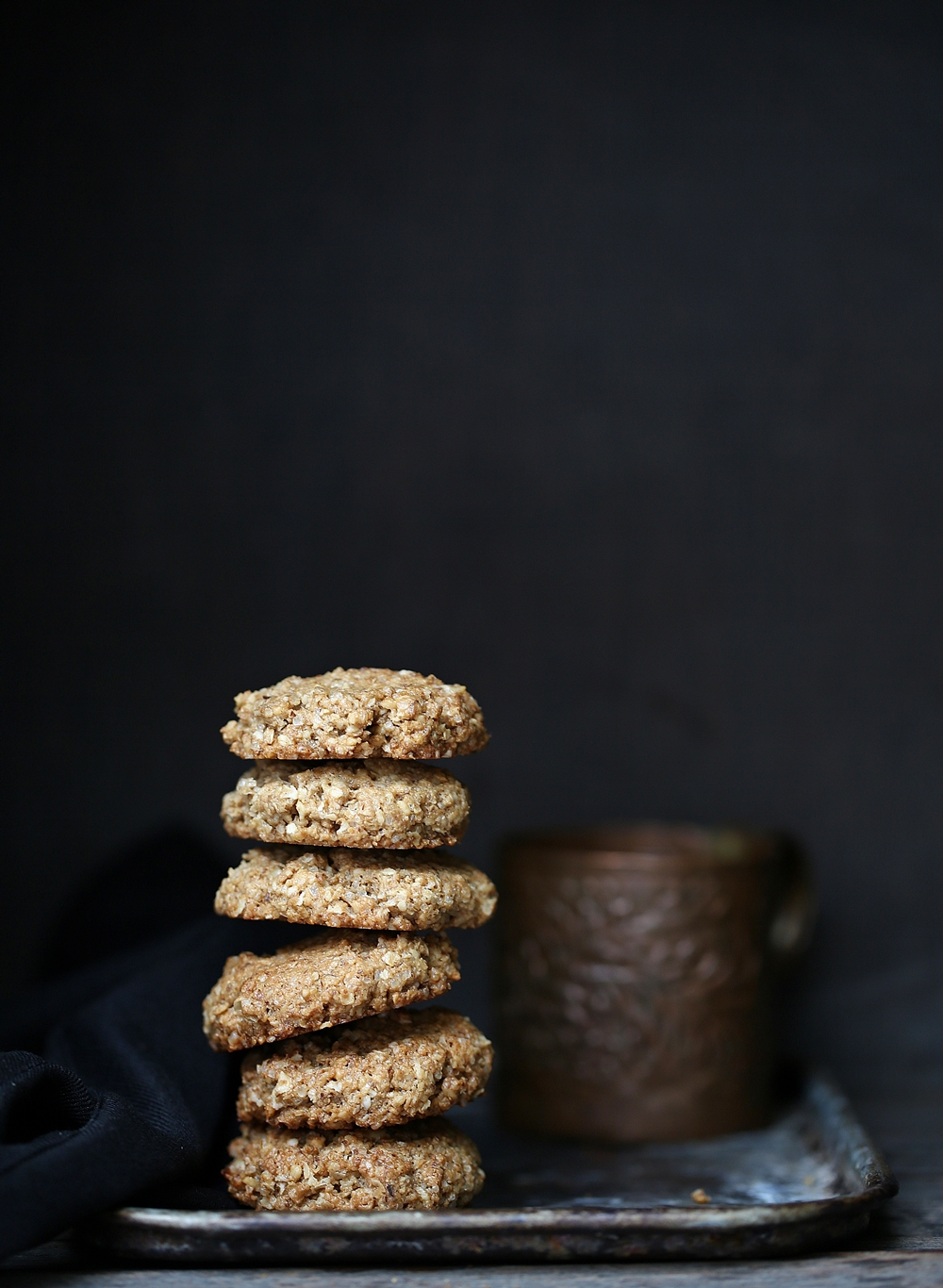 Oat & Walnut Cookies