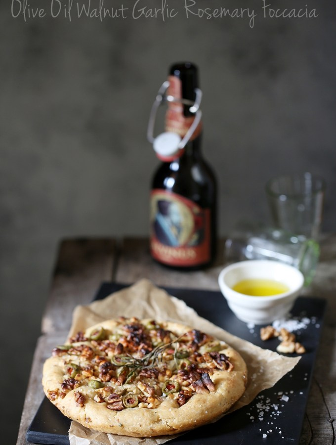 Baking | Olive Oil Walnut Garlic Rosemary Foccacia … bread of life
