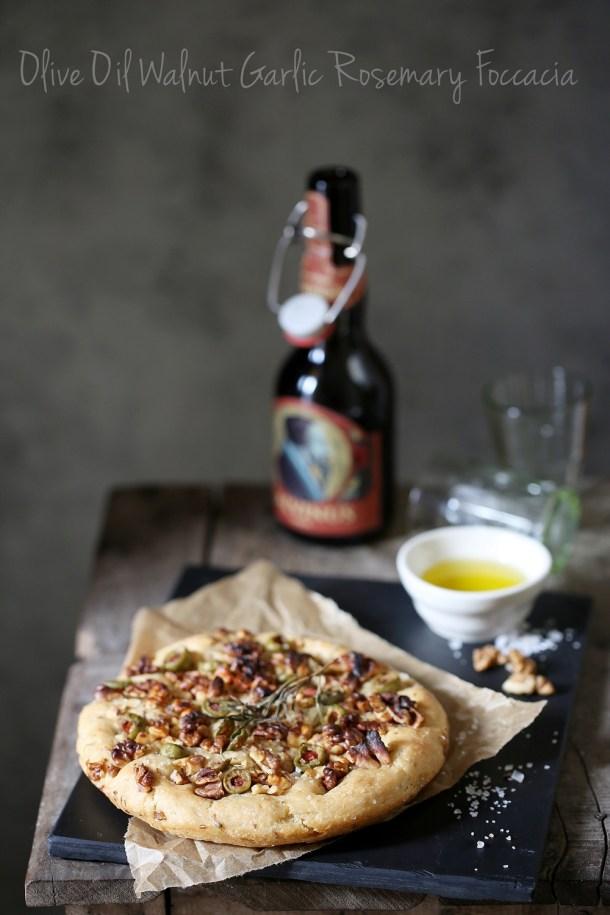 Olive-Oil-Walnut-Garlic-Rosemary-Foccacia-1000 Baking   Olive Oil Walnut Garlic Rosemary Foccacia ... bread of life
