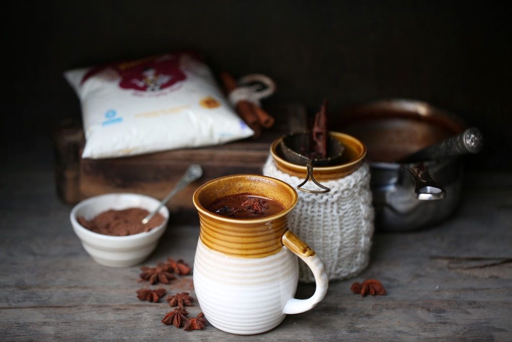 Rich Spiced Hot Chocolate