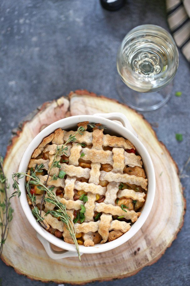 Cheesy-Chicken-Pot-Pies-7-1000 Baking | Cheesy Chicken Pot Pies ... comfort food for the holidays with #bigbanyanwines