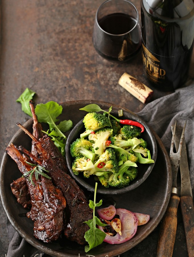 Cooking | Lamb Chops with Red Wine… deep, delicious holiday flavours with Big Banyan Wines