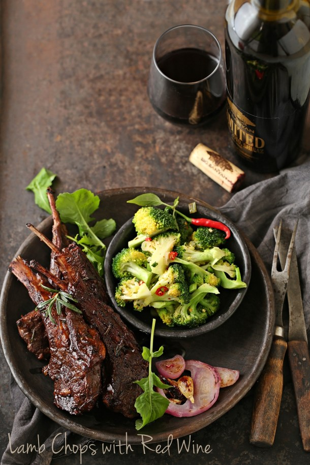 Red-Wine-Lamb-Chops-4-1000 Cooking | Lamb Chops with Red Wine... deep, delicious holiday flavours with Big Banyan Wines